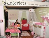 Second Prize: Julie Smallman of Funteriors who also sponsored the gorgeous Baby Changing Area